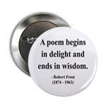 "Robert Frost 11 2.25"" Button (100 pack)"