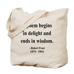 Robert Frost 11 Tote Bag