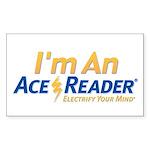 AceReader Sticker (Rectangle)