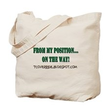 From My Position Tote Bag