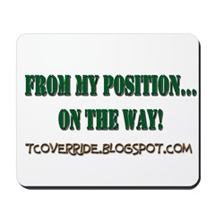 From My Position Mousepad