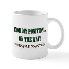 From My Position Mug