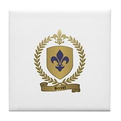 BONNET Family Crest Tile Coaster