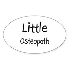 Little Osteopath Oval Decal