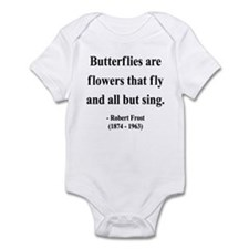 Robert Frost 10 Infant Bodysuit