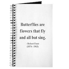 Robert Frost 10 Journal