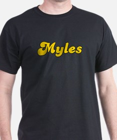 Retro Myles (Gold) T-Shirt