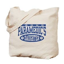 Proud Paramedic's Daughter Tote Bag