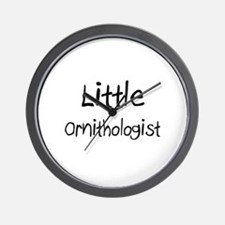 Little Ornithologist Wall Clock