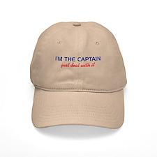 I'm the Baseball Baseball Captain Just Deal Wit Baseball Baseball Cap