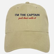 I'm the Captain Just Deal Wit Baseball Baseball Cap