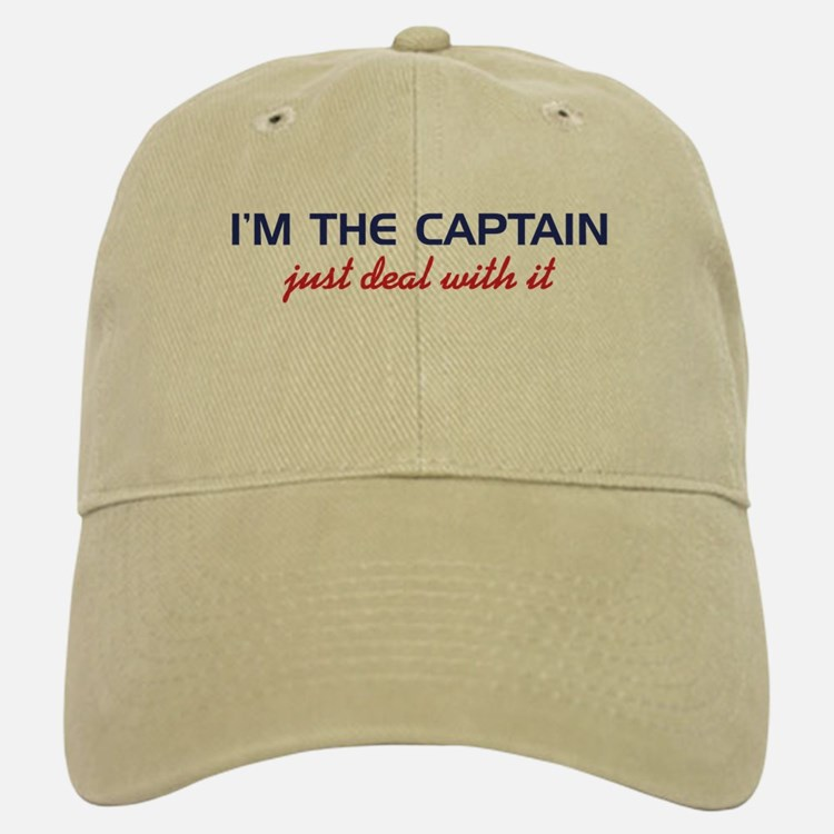 I'm the Captain Just Deal Wit Baseball Baseball Cap