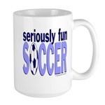 Seriously Fun Soccer Large Mug