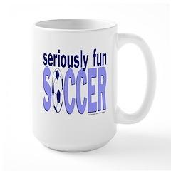 Seriously Fun Soccer Mug