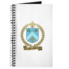 BOUCHER Family Crest Journal