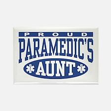 Proud Paramedic's Aunt Rectangle Magnet