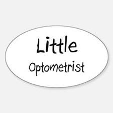 Little Optometrist Oval Decal