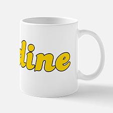 Retro Nadine (Gold) Mug