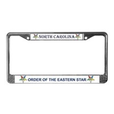 OES North Carolina License Plate Frame