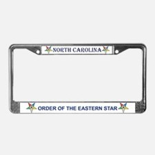 OES North Carolina License Plate Frame