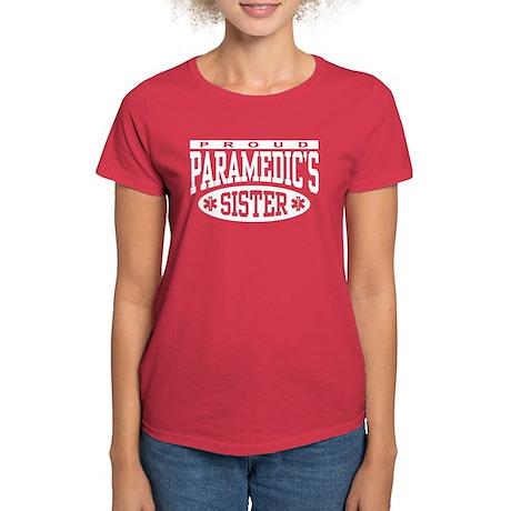 Proud Paramedic's Sister Women's Dark T-Shirt