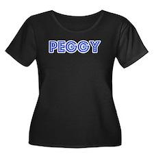Retro Peggy (Blue) T