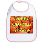 Sweet Georgia Peach Bib