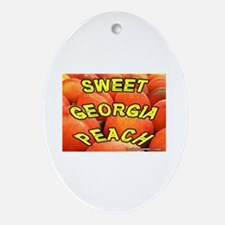 Sweet Georgia Peach Keepsake (Oval)