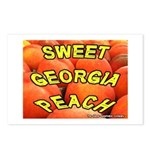 Sweet Georgia Peach Postcards (Package of 8)