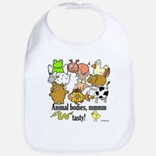 Cute Pig and chick Bib