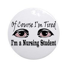 Nursing Student Ornament (Round)