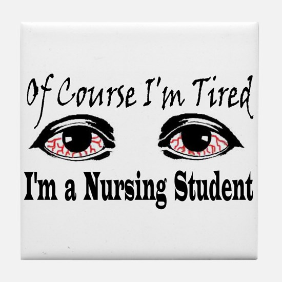 Nursing Student Tile Coaster