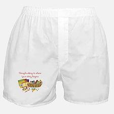 Scrapbooking Boxer Shorts