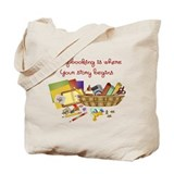 Scrapbooking Canvas Bags