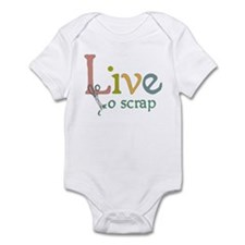 Live to Scrap Infant Bodysuit