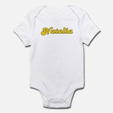 Retro Natalia (Gold) Infant Bodysuit