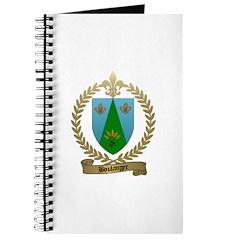 BOULANGER Family Crest Journal
