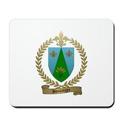 BOULANGER Family Crest Mousepad