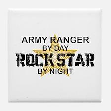 ARMY Ranger Rock Star Tile Coaster