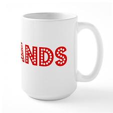 Retro Redlands (Red) Mug