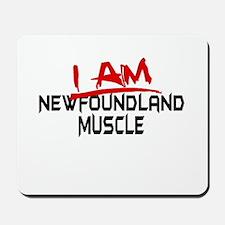 I am Newfoundland Muscle Mousepad