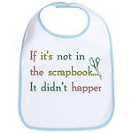 Scrapbooking Facts Bib