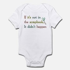 Scrapbooking Facts Infant Bodysuit