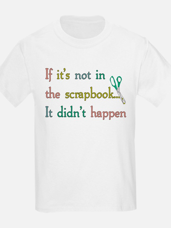 Scrapbooking Facts T-Shirt