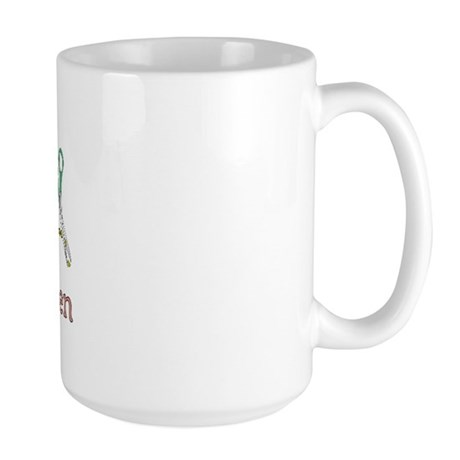 Scrapbooking Facts Large Mug