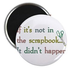 Scrapbooking Facts Magnet