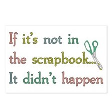 Scrapbooking Facts Postcards (Package of 8)