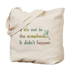 Scrapbooking Facts Tote Bag
