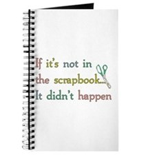 Scrapbooking Facts Journal