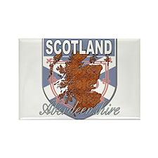 Aberdeenshire Rectangle Magnet